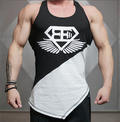 Men's Asymmetrical Tank