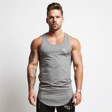 Men's Curved Hem Singlet
