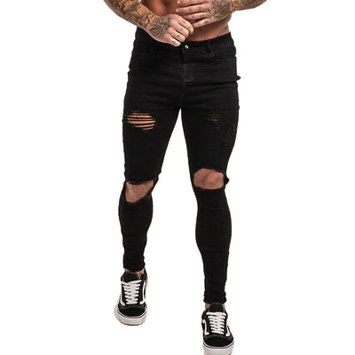 Men's Super Skinny Ripped Jeans