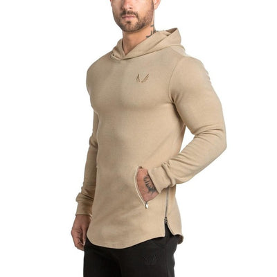 Men's Hooded Sweatshirt-FITNESS ENGINEERING