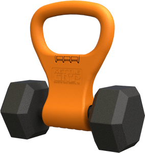 Kettlebell, Convert dumbells to kettlebells with Kettle Gryp