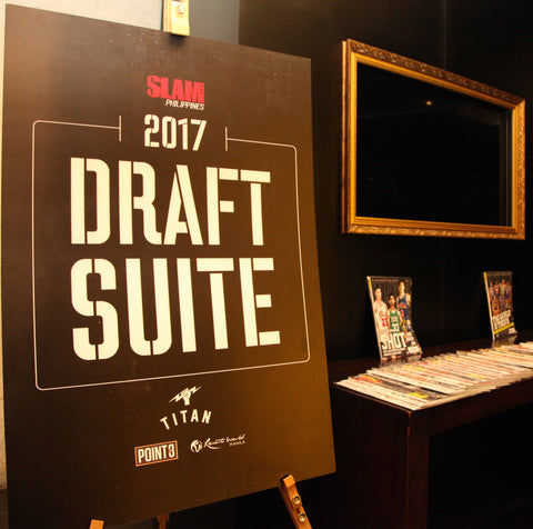 PBA Draft Suite Logo c/o SLAM Ph x Point 3 Philippines x Titan and Resort's World