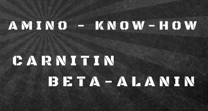 Amino Know-How: Beta-Alanin & L-Carnitin