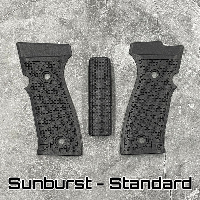 Textured Grip Scales for P320 AXG