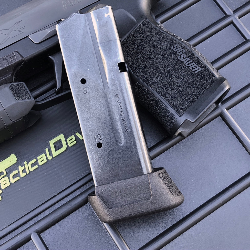 Extended Pro Ledge Extension for SIG P365 XL 12 Round Mag