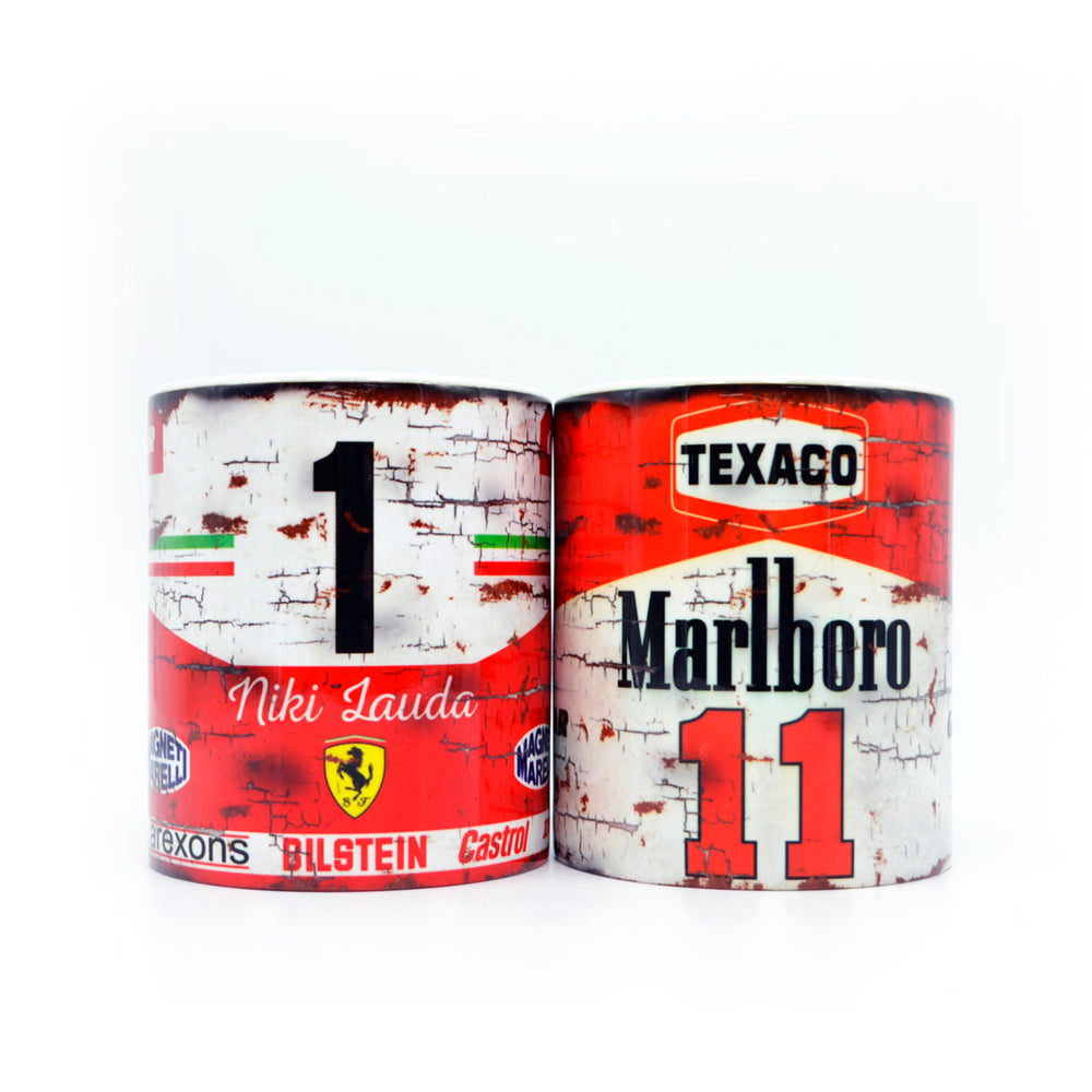 Set of 2: Niki Lauda & James Hunt