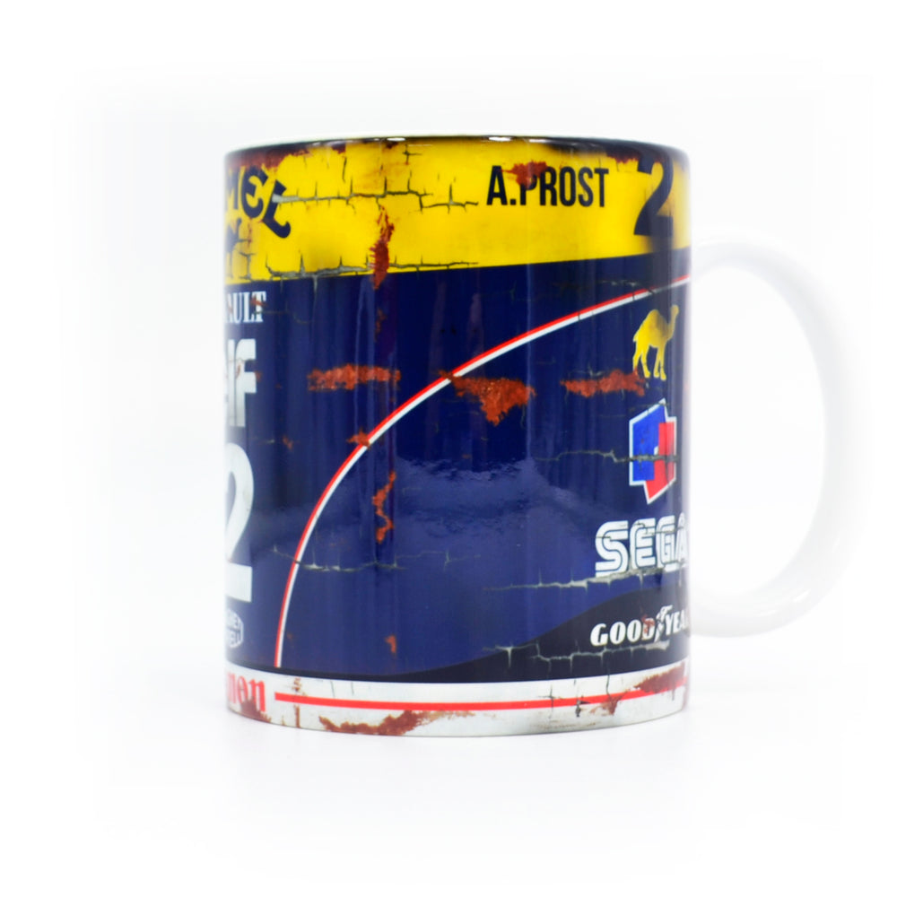 Set of 2: Ayrton Senna & Alain Prost