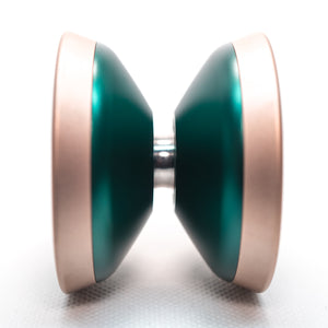 Plvs Vltra Dark Green / Matt Rose Gold Rim