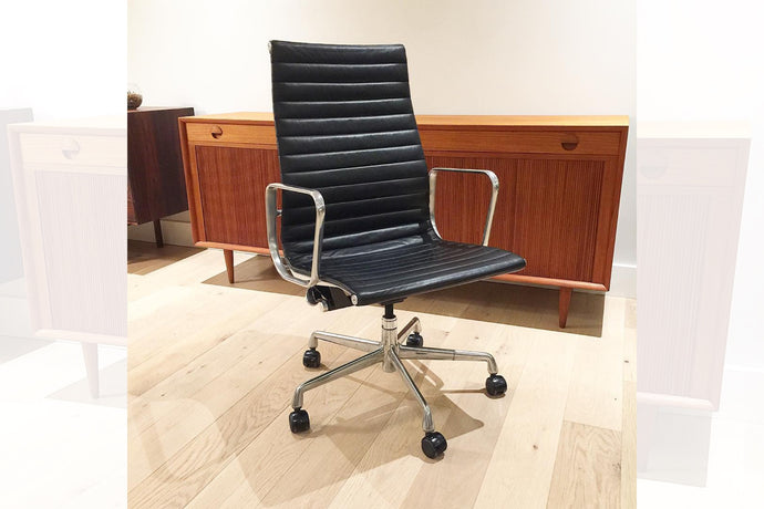 Eames Aluminum Group Executive Chair designed by Charles and Ray Eames for Herman Miller