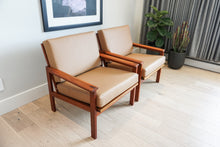 No. 4 Capella Teak Lounge Chairs by Illum Wikkelsø for N. Eilersen