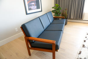 Capella 3-seater Sofa by Illum Wikkelsø for N. Eilersen