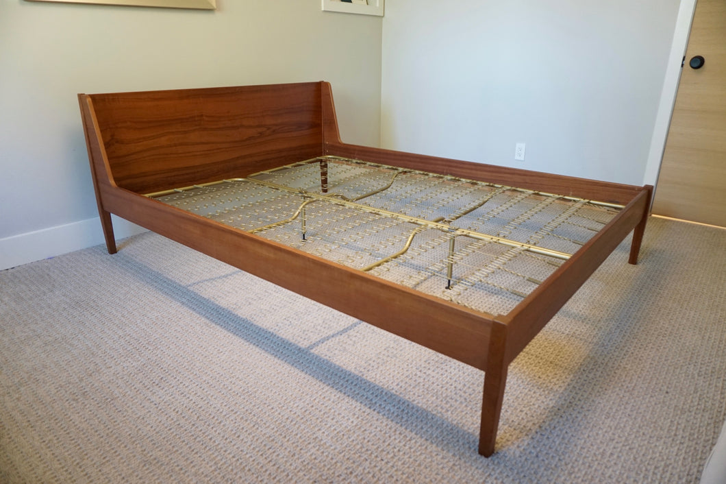 Ib Kofod-Larsen for Fredericia Danish Modern Teak Queen Bed