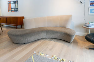 Sculptural Bilbao Sofa & Side Chair by Vladimir Kagan