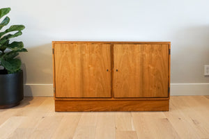 Small Danish Rosewood Sideboard by Carlo Jensen for Poul Hundevad