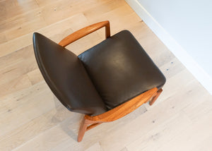 Tove & Edvard Kindt-Larsen Model 125 Lounge Chair for France & Son