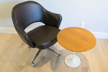 Eero Saarinen for Knoll Executive Armchair in Leather
