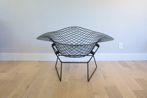 Harry Bertoia for Knoll Large Diamond Lounge Chair with Full Cover