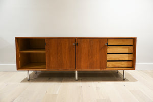Florence Knoll Teak Credenza for Knoll Associates