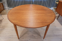 Skovmand & Andersen Teak Extendable Round Dining Table