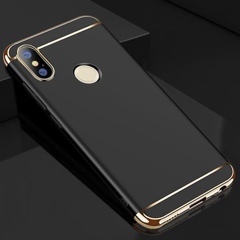 finest selection 3cb10 ea348 Redmi Note 5 Pro Luxury Metal Plating Case