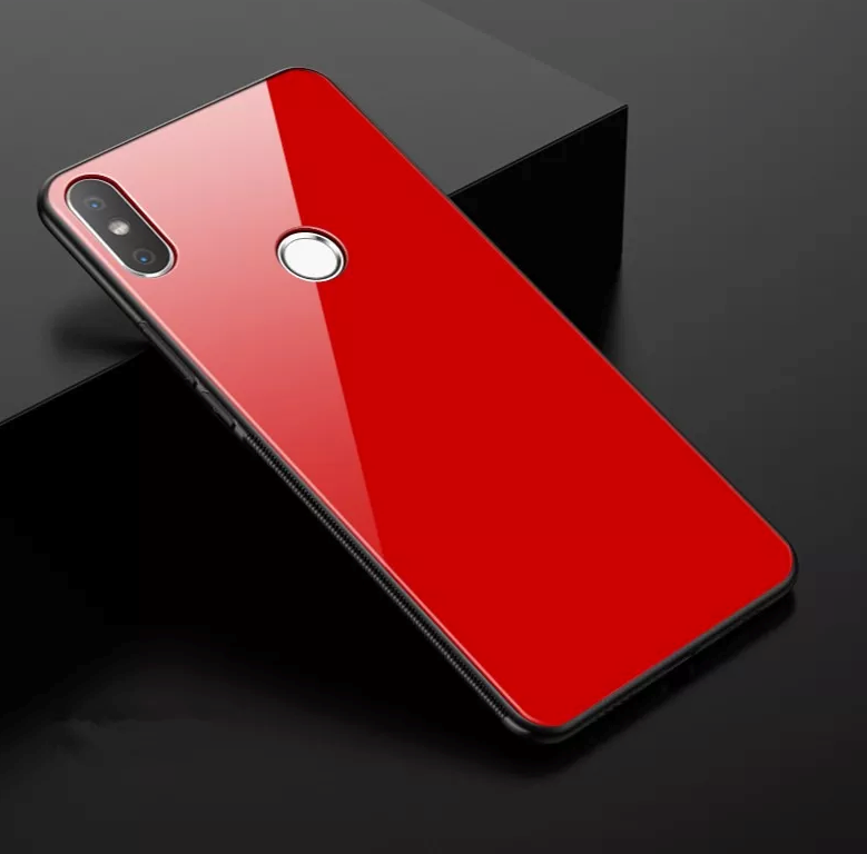 buy popular f288c 3f461 Redmi Note 5 Pro Limited Edition Glass Back Silicone Cover