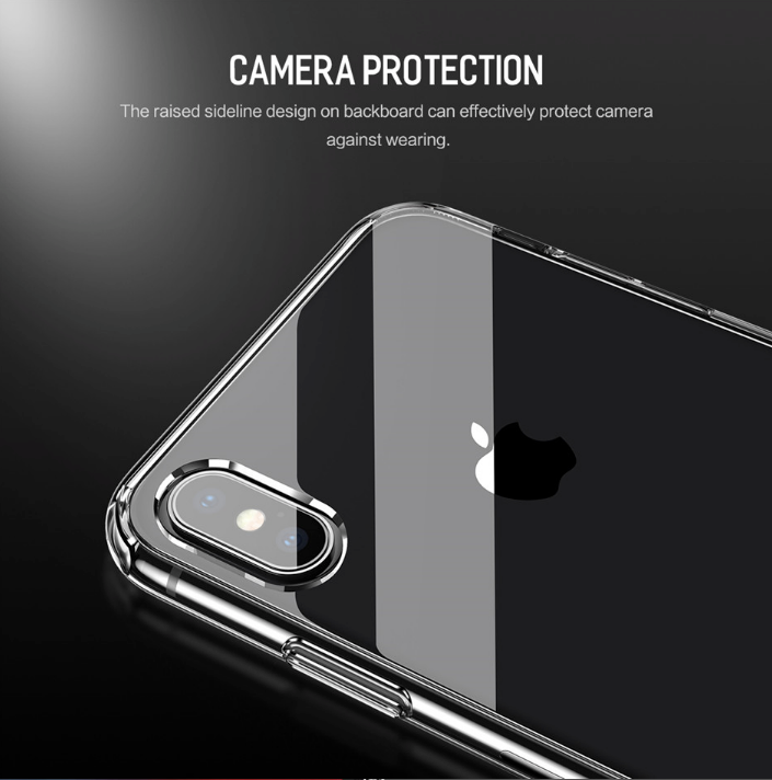 best service 7432f fc06a Apple iPhone XS Max Crystal Clear Protective Armor Case