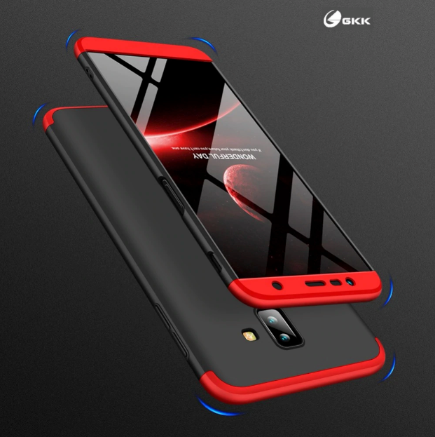 promo code 638b1 0cf3d Galaxy J6 Plus Complete 360° Protection Hard Case