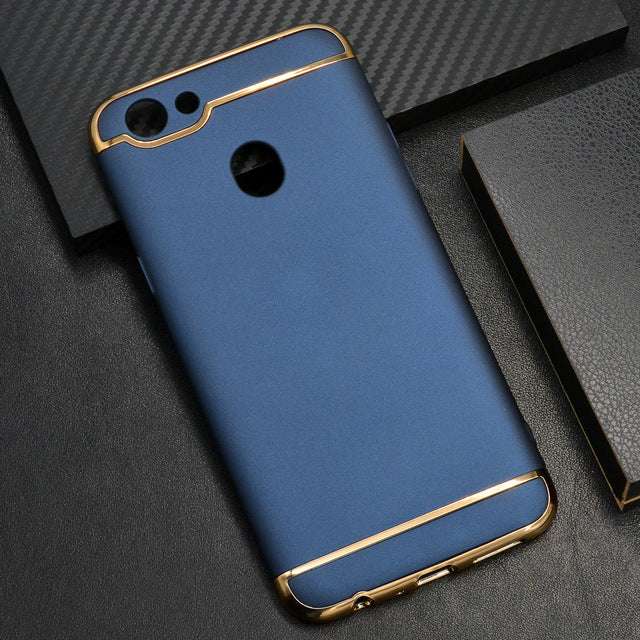 cheap for discount 86b70 e8013 Oppo F5 Metal Plating Hard Case