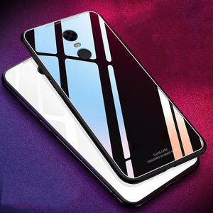 info for 242c8 844e9 Redmi Note 5 Limited Edition Glass Back Silicone Cover