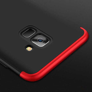 finest selection a2ca8 0c4ea Galaxy A8 Plus 360° Complete Protection Case