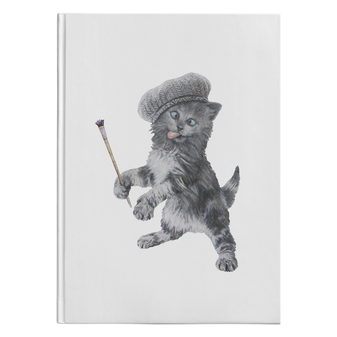 Crazy Cat Journal - Hardcover