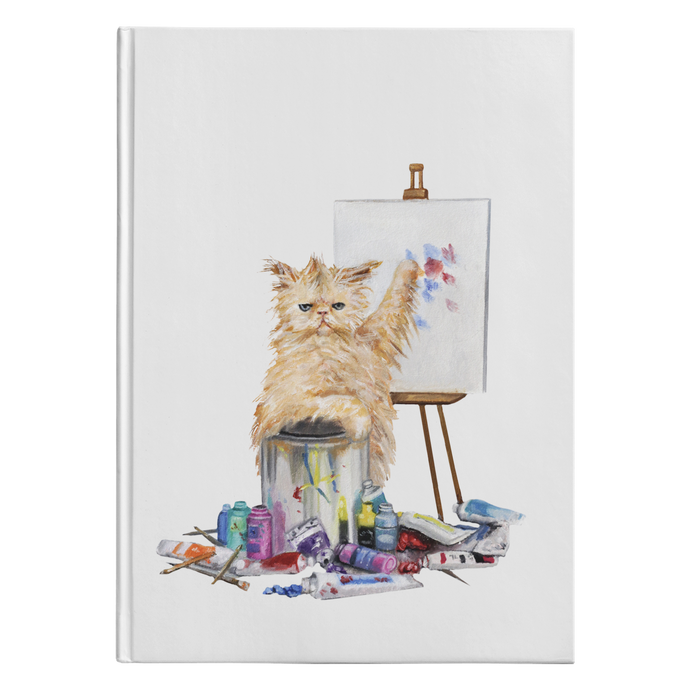 Creative Cat Journal - Hardcover