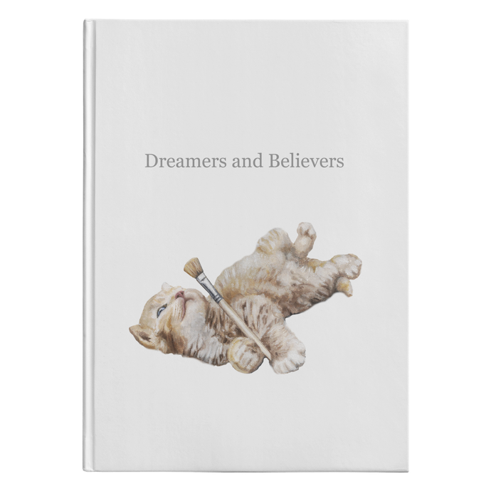 Dreamy Cat Journal - Hardcover