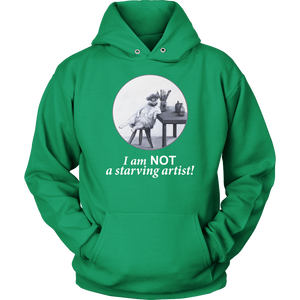 The Abundant Artist Hoodie - various colours