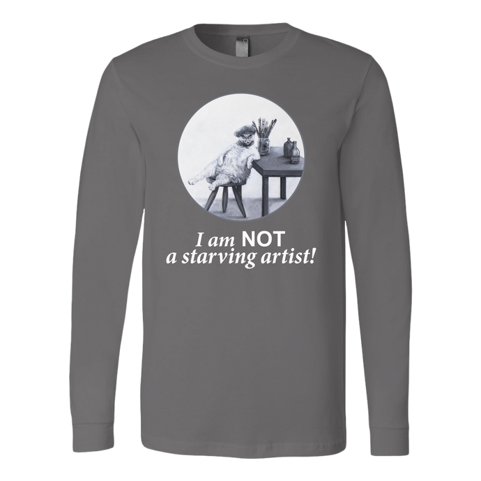 The Abundant Artist Women's Long Sleeve Shirt - various colours