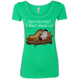 Green Women's Short Sleeve TShirt - Schmoozle Collection