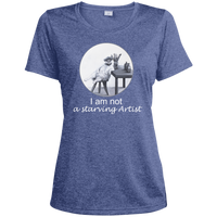 Blue Ladies tshirt for artists from Artisticat - Schmoozle Collection