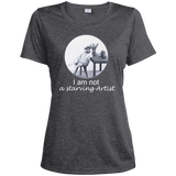 Grey Ladies tshirt for artists from Artisticat - Schmoozle Collection