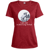 Red Ladies tshirt for artists from Artisticat - Schmoozle Collection