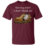 Short-Sleeve Unisex Cat TShirt - Schmoozle collection from Artisticat