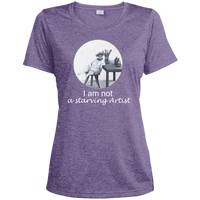 purple Ladies tshirt for artists from Artisticat - Schmoozle Collection