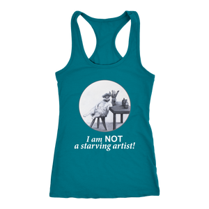 The Abundant Artist Women's Racerback - various colours