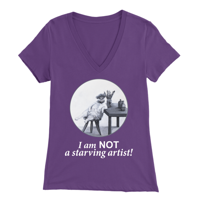 The Abundant Artist Women's V-Neck - various colours