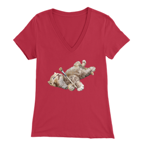 Dreamy Cat V-Neck - various colours