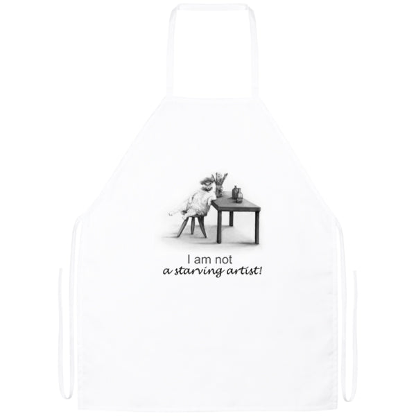 Artists Cat Apron from Artisticat