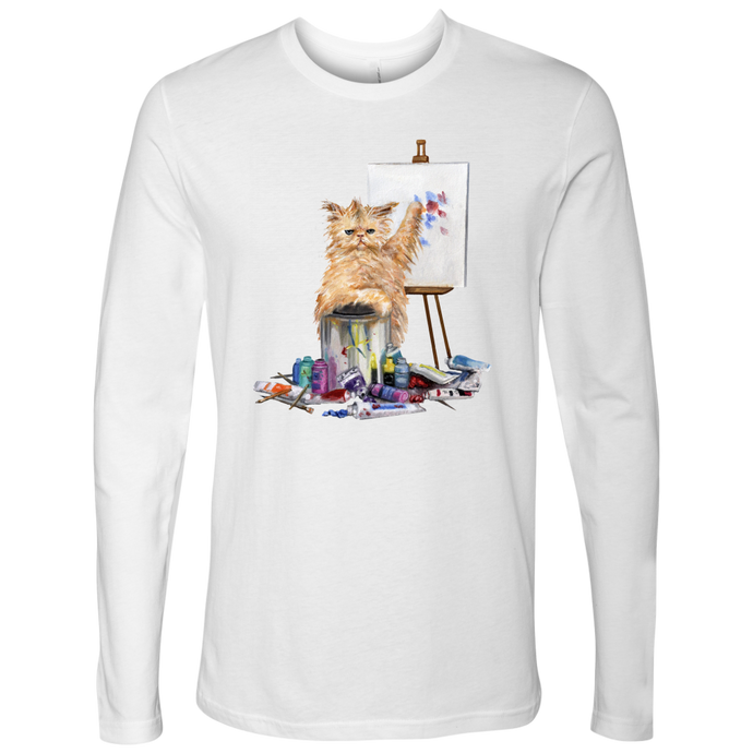 Creative Cat Men's Long Sleeved - various colours