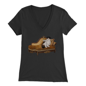 Aristocat V-Neck - various colours