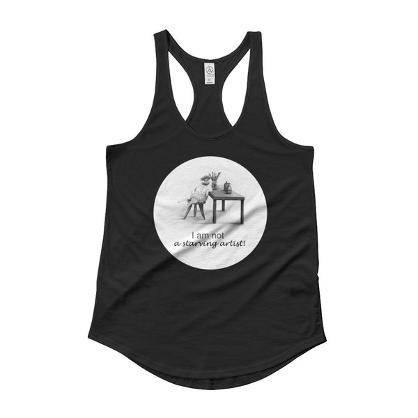 Ladies' Shirttail Cat Tank - Original collection from Artisticat