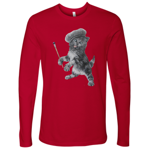 Crazy Cat Men's Long Sleeved - various colours