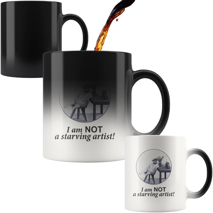 The Abundant Artist Colour Changing Mug